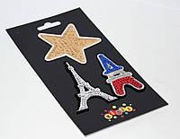 """Наклейки-термо на текстиль 8409 """"Париж"""""""