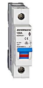 Выключатель нагрузки Schrack 100А 1P