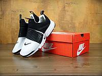 Кроссовки Nike Air Presto Extrem black White. Живое фото. Топ качество! (аир престо, эир престо)