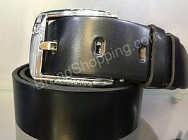 Кожаный ремень Burberry 0513 мужской/женский ширина 3,7см