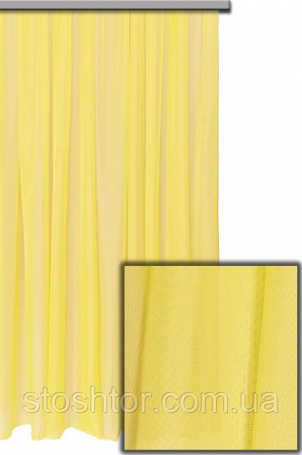 Шифон турецкий желтый