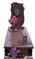 """Памятник на могилу из гранита """"Скала"""""""