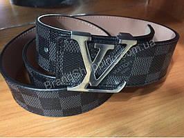 Кожаный ремень LouisVuitton 0516 мужской/женский