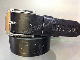 Кожаный ремень Levis 0557 ширина 4см мужской/женский