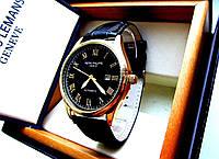 Стильные наручные мужские часы Patek Philippe