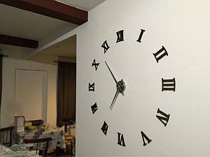 Часы 3-D настенные, ОРИГИНАЛ большие (римские 2254)