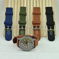Ремешок для часов капрон зеленый (20 мм), фото 2