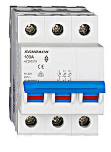 Выключатель нагрузки Schrack 100А 3P