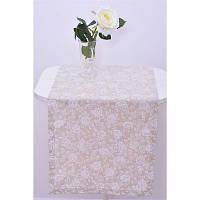 """Дорожка  """"white Rose""""120х40 см"""