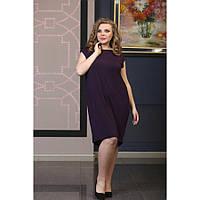 Женское платье открытая спина Ля-Минор размер 48-72 / большого размера