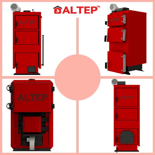 Котлы на твердом топливе Альтеп (ALTEP)