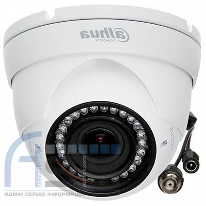 1.0 МП HDCVI видеокамера DH-HAC-HDW1100R-VF( 2.7-12 мм), фото 2