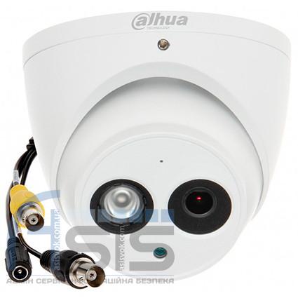 2,0 МП HDCVI видеокамера DH-HAC-HDW2221EMP-A (3.6 мм)