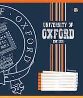 "Тетрадь 12 линия ""Зошит України"" Oxford logo"