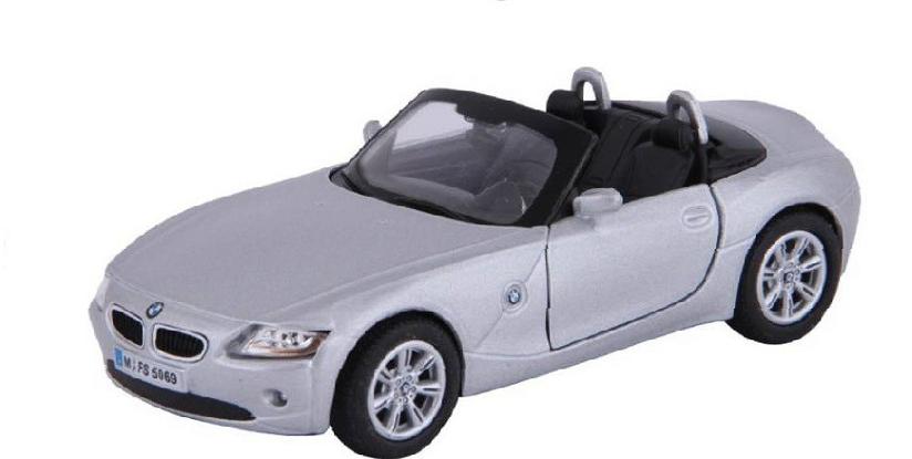 Металлическая модель kinsmart BMW Z4