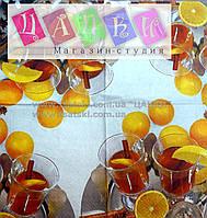 """Салфетка декупажная 33x33см 13 """"Коктель с апельсином"""""""