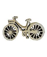 Декоративное изделие Велосипед белый