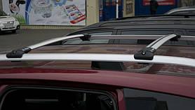 Багажник на рейлинги Aguri Prestige P-5 алюминиевый, не выступающий 97.5-102.5см