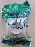 Накладна Розетка 1-я LEMANSO Магнолія біла LMR2003, фото 2