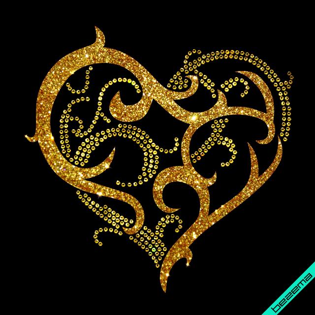 Декор на пояса Ажурное сердце