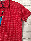 Сорочка з коротким рукавом для хлопчиків 7-12 років, фото 2