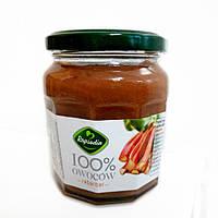 Джем ревень Rapsodia 100% Owocow Rabarbar без сахара, 220 грамм, фото 1
