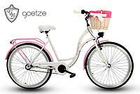 Велосипед Goetze BLUEBERRY 26  3-передачи + фара и корзина в подарок