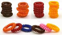 Резинка спираль силиконовая разноцветная