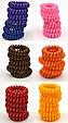 Резинка спираль силиконовая разноцветная, фото 2