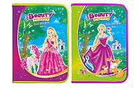 """Папка для труда (на змейке) A4 картон """"Princess"""" 7544"""