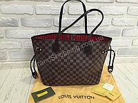 Сумка кожаная Louis Vuitton neverfull 40249