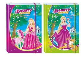 """Папка А4 на резинке 7570 """"Princess"""" (ламинированный картон)"""