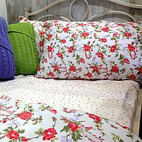 Комплект постельного белья Роза-горох евро ТМ Прованс