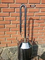 Дистиллятор колонна народная и бидон из нержавеющей стали 15 л