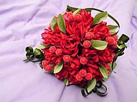 Свадебный букет-дублер из красных роз