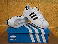 Кроссовки Adidas Superstar Supercolor Оригинал white/black/gold. Живое фото. Самовывоз 39