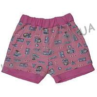 Короткие шорты для девочки на рост 86-92 см - Рибана