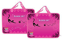 """Папка пластиковая детская с ручками """"Black Cat"""""""