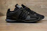 Кросівки Adidas EQT ADV Support Tripple Black. Живе фото. Топ якість! (Репліка ААА+), фото 1