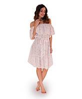 Платье летнее Розовые полосы ТМ Прованс