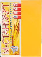 Бумага A4 'М-Стандарт' ИНТЕНСИВ 200/CY40 (Gold) 100 л./80 гр.