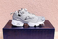 Кроссовки Reebok insta pump fury OG Grey. Живое фото (Реплика ААА+)