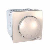 MGU3.511.25. Светорегулятор поворотно-нажимной. 230/12В дляя устройств с ферромагнитным трасформатором. Слоновая кость Unica