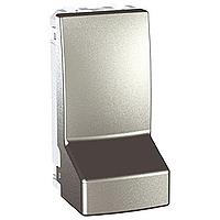 MGU3.860.30. Адаптер для подсоединения кабеля. 1-модульный. Алюминий Unica