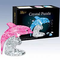 "Пазлы 3D кристальные ""Дельфин"""