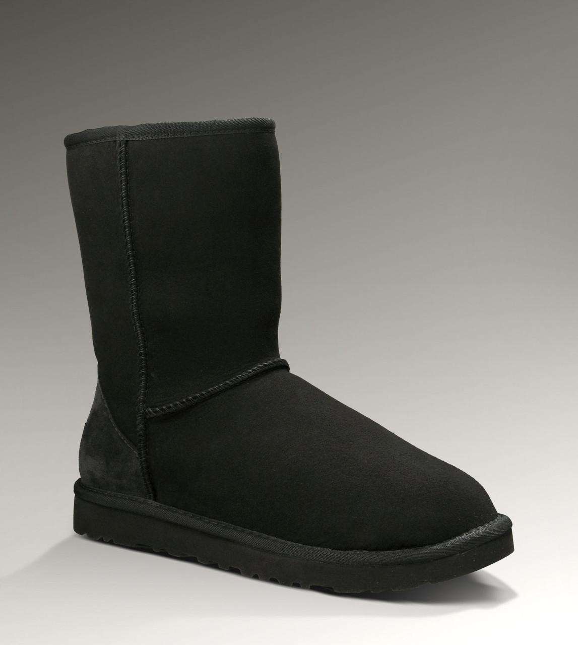 Натуральные угги UGG Australia (Угги Оригинал) Classic Short черные. Model: 5825 - Интернет магазин обуви Sunday Market в Киеве