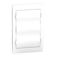 EZ9E312P2F. Щит пластиковый врезной. Белая дверь. 3РЯД/36М+2КК