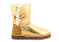 Натуральные угги UGG Australia (Угги Оригинал) Bailey Button Metallic Gold. Model: 5803