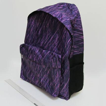 "Рюкзак мягкий DSCN0625-B-2 ""Ливень"" с карманом, подростковый, фото 2"