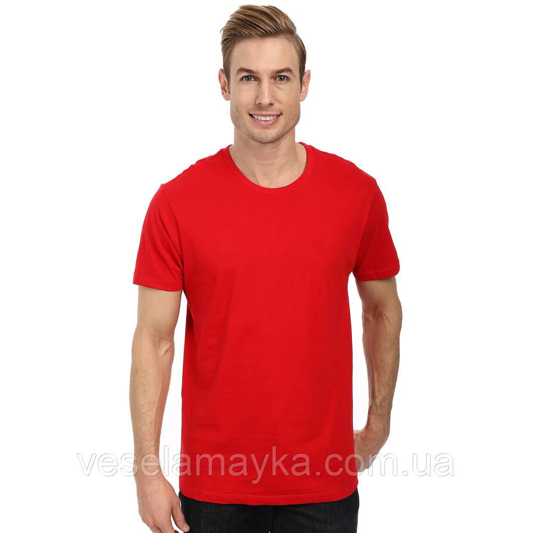 Красная мужская футболка (Комфорт)